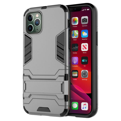 Slim Armour Tough Shockproof Case for Apple iPhone 11 Pro - Grey